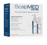 Scalp Med Men's 4-Month Regrowth 2: 2-month Kits