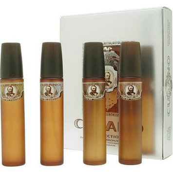 Cubano Variety By Cubano For Men. Set-4 Piece Variety With Cubano Gold