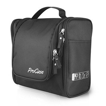 ProCase Large Toiletry Bag with Hanging Hook