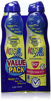 Banana Boat Kids Ultra Mist Tear-Free Sting Free Twin Pack Sunscreen Spray SPF 50