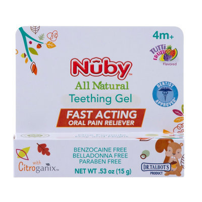 Dr. Talbot's All Natural Teething Gel with Citroganix - 0.53oz