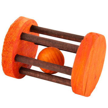 All Living Things® Barrel Roller Small Animal Toy size: Small, Multi-Color