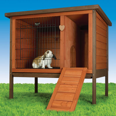 All Living Things® Rabbit Hutch size: Small