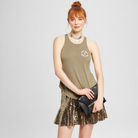 Tank Tops Olive Drab L, Green