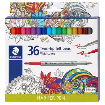 Permanent Marker 36 ea Staedtler, Multi-Colored