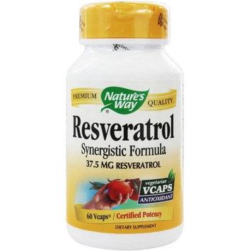 Natures Way Resveratrol, 60 CP