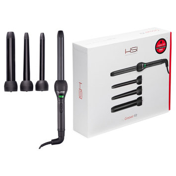Hsi Professional Groover Kit Curling Iron, Black