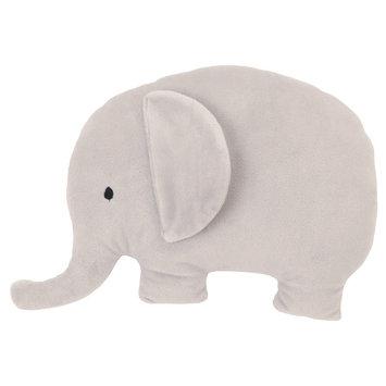 NoJo Plush Pillow - Elephant Dream, Gray