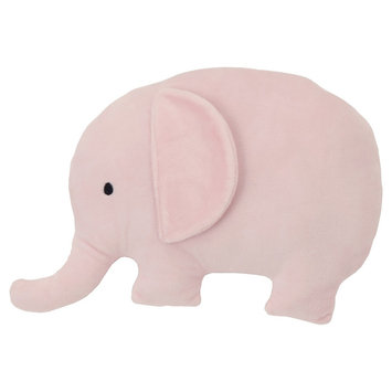 NoJo Plush Pillow - Elephant Dream, Pink