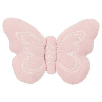NoJo Plush Pillow - Daydreamer - Pink Butterfly