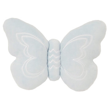 NoJo Plush Pillow - Daydreamer - Mint (Green) Butterfly