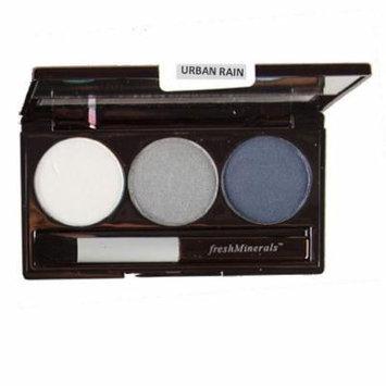 freshMinerals Mineral Triple Eyeshadow, Urban Rain, 4.25 Gram