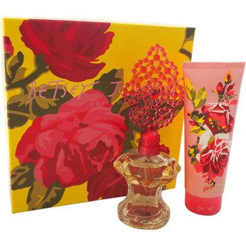 Betsey Johnson By Betsey Johnson For Women. Set-eau De Parfum Spray 3.4 oz & Body Lotion 6.7 oz