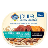 Nature's Recipe® Pure Essentials Dog Food size: 2.75 Oz