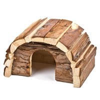 National Geographic, Dome Small Animal Hideout size: Small, Brown
