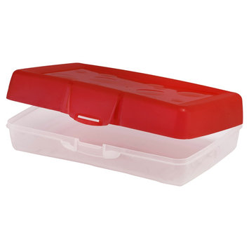 Pencil Case Red Storex, Pencil Case