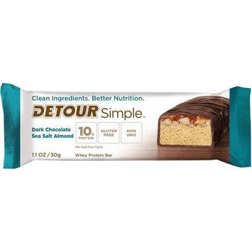 Detour SIMPLE Dark Chocolate Sea Salt Almond Protein Bar, 1.1 oz
