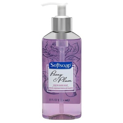 Softsoap Peony and Plum Liquid Hand Soap - 8oz