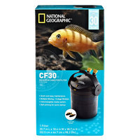 National Geographic, Aquarium Filter size: 30 gal