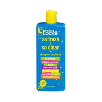 Rock the Locks So Fresh & So Clean Shampoo + Conditioner - 12oz