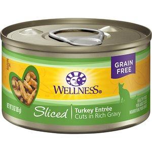 Wellness Complete Health™SlicedTurkey Entree Cat Food