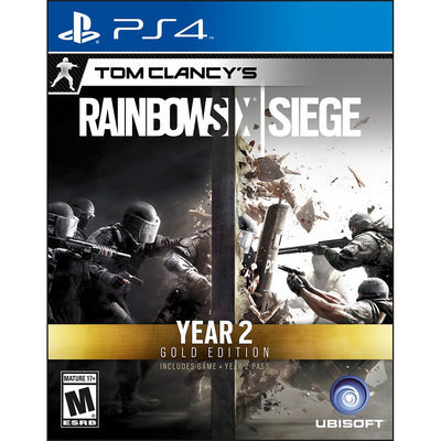 Ubisoft Rainbow Six Siege Year 2 Gold Edition Playstation 4 [PS4]