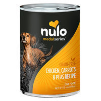 Nulo MedalSeries Dog Food - Grain Free, Chicken, Carrots and Peas size: 13 Oz