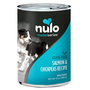 Nulo MedalSeries Dog Food - Grain Free, Salmon and Chickpeas size: 13 Oz