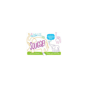 Squiggle! : Over 200 One-line Animals to Doodle (Paperback) (Makie Nakamura)