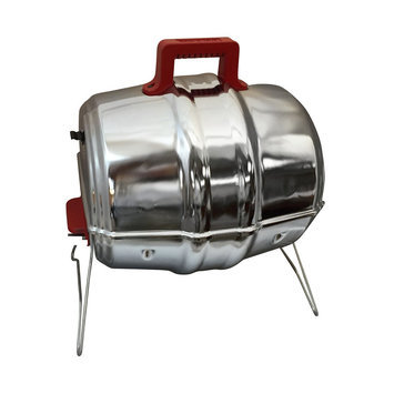 Keg-a-Que 10004RS Charcoal Portable BBQ Grill