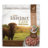 Natures Variety Instinct Nature's Variety® Instinct® Raw Bites Dog Food - Natural, Grain Free, Frozen Raw size: 4 Lb