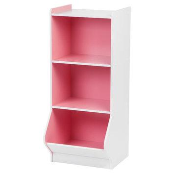 Iris 3-Tier Storage Shelf - Pink