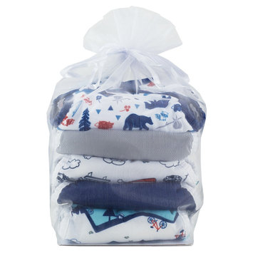 Thirsties Snap Duo Wrap Outdoor Adventure Diaper Collection, Size 2 - Adventure Trail