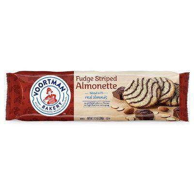 Voortman Fudge Striped Almonette - 12.3oz