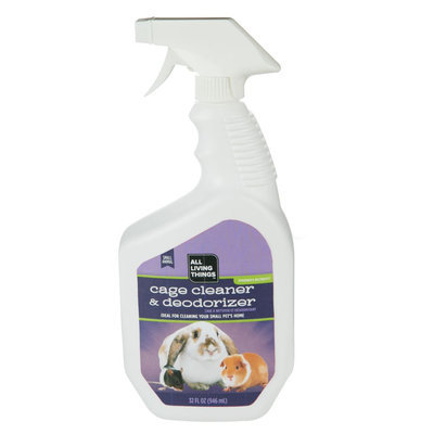 All Living Things® Small Pet Cage Cleaner and Deodorizer size: 32 Fl Oz