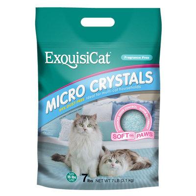 ExquisiCat® Micro Crystals Cat Litter size: 7 Lb