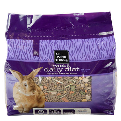 All Living Things® Rabbit Food size: 8 Lb