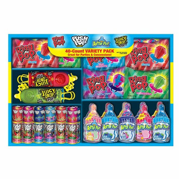 Ring Pop Candy (1Variety Pack, 40 Count)