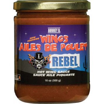 Extremely Hot, Spicy, Rebel Chicken Wing Salsa Sauce by Aubrey D. Take a Fiery Flight to Bring out the Daring Foodie in You!
