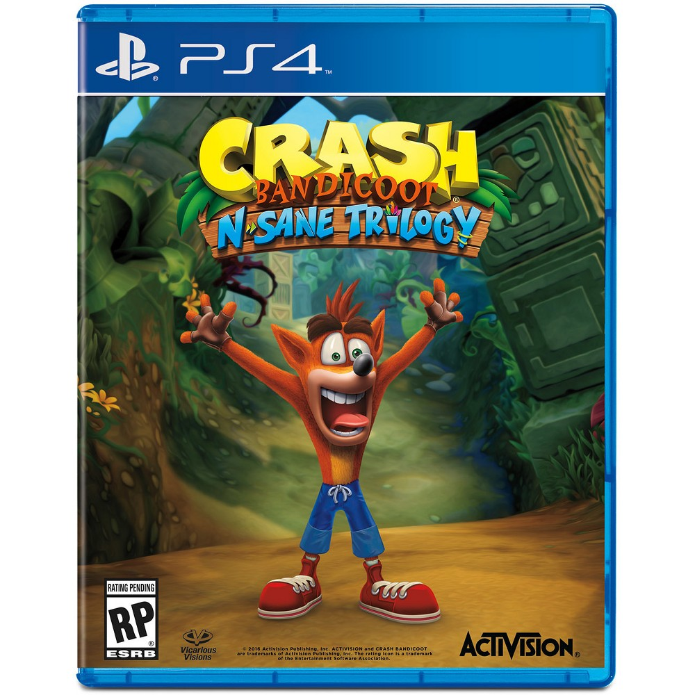 Activision Crash N Sane Trilogy Playstation 4 [PS4]
