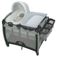 Graco Pack 'n Play Quick Connect Portable Bouncer with Bassinet, Albie