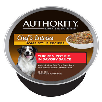 Authority® Chef's Entrees Dog Food size: 3.5 Oz