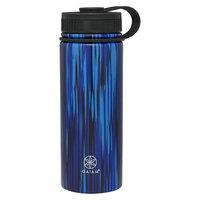 Gaiam 18oz Stainless Steel Water Bottle - Blue Moonbeam