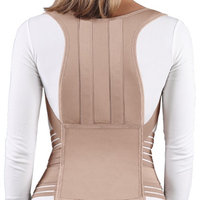 Closeoutzone Posture Control Brace Corrective Back Lumbar Support Tan