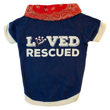 Muttnation Fueled By Miranda Lambert Mutt Nation Miranda Lambert's Dog T-Shirt Loved & Rescued Large, Multicolored
