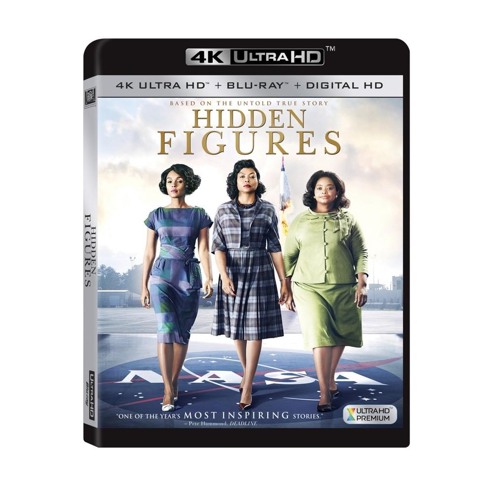 Hidden Figures (4K/Uhd + Blu-ray + Digital)
