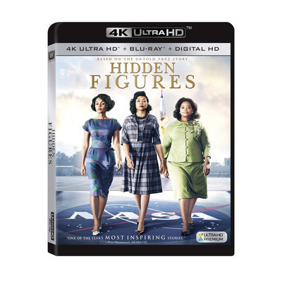 Hidden Figures (4K/Uhd + Blu-ray + Digital)