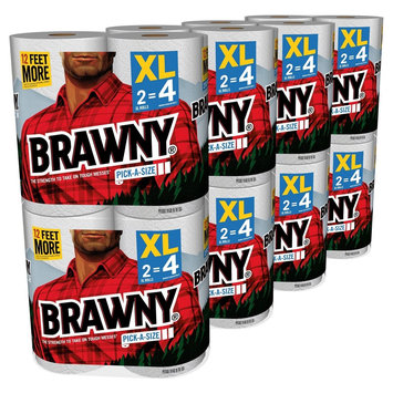 Brawny Pick-A-Size Paper Towels - 16 Rolls