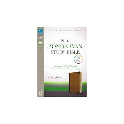 Zondervan Study Bible: New International Version, Chocolate / Caramel, Italian Duo-Tone, Built on the