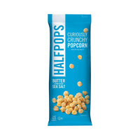 Halfpops Butter & Pure Ocean Sea Salt Halfpops - 12 Bags-12 Each